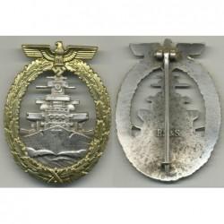 Distintivo per eguipaggi della Flotta da guerra di alto mare