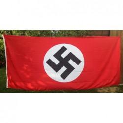 bandiera del partito 122x276 cm in poliestere con cordino