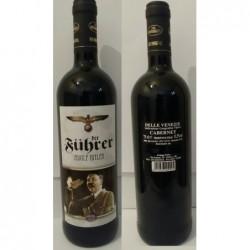 bottiglia vino di Hitler 1  Bordolese di rosso Cabernet 75 cl