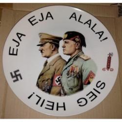 piatto di ceramica 25 cm di diametro
