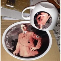 tazza e piatto Hitler