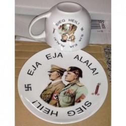 tazza e piatto Alleati