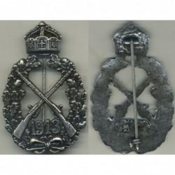 Distintivo di Impero artigliere 1913 argento