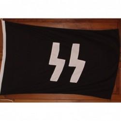 Bandiera SS 150x95 cm  di cotone con loghi stampati su ambo i lati