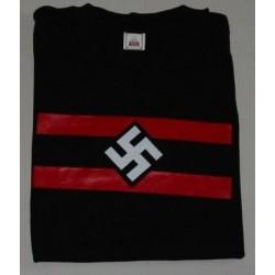 Tshirt di cotone con svastica