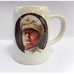 Boccale alto 13 cm Mussolini 2