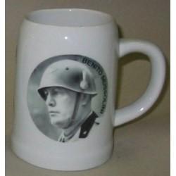 Boccale alto 13 cm Mussolini 3