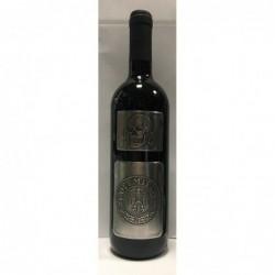 Vino Sangiovese in edizione limitata in esclusiva con etichetta in alluminio.