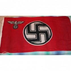 Bandiera di cotone 150x90 cm con laccio