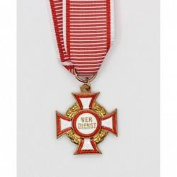 Croce al merito militare austriaco di  terza classe con nastro