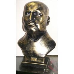 Busto in marmo colore bronzo o nero