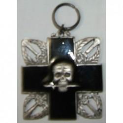 Croce commemorativa  degli Arditi con dedica sul retro
