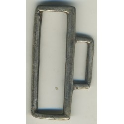 argento 51x19 mm curvato