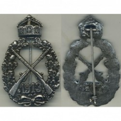 1913 Empire gunner silver badge