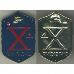 Decima Divisione XMas color bronzo