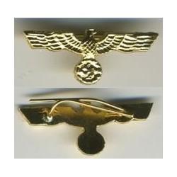 Aquila di oro piccola per nastrino da decorazione o medaglia