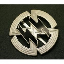 Distintivo argento di membro di onore delle SS. Istiuito da Himmler nel 1943. Spillo piatto e marchio RZM MI25