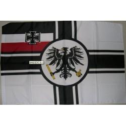 Bandiera imperiale tedesca in corso fino al 1918