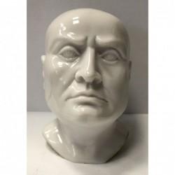 Busto in marmo alt. cm. 9. Disponibile anche in nero