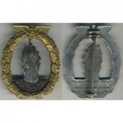Distintivo per eguipaggi di navi Dragamine