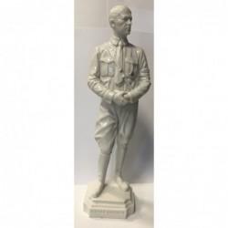 Statuina simil marmo cm 30
