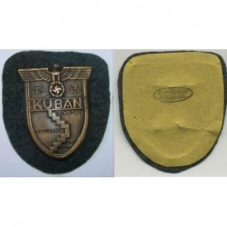 Decorazione a placca per meriti nella difesa della regione di Kuban nel 1943.