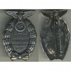 Distintivo per il convegno di Braunschweig del 1931