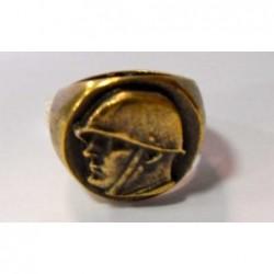 Anello del Duce in ottone 25 mm