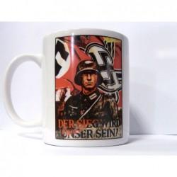 SS-Junkerschule Bad Tölz Offiziersschule Gedenk Silber Ring