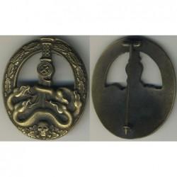 Distintivo di specialista di combattimento antiguerriglia bronzo