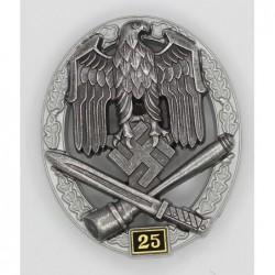 Distintivo di Attacco generico 25 assalti. marcato JFS