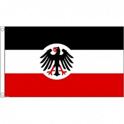 Bandiera Impero tedesco o prussiano