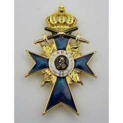 Croce di merito bavarese con grado ufficiale di spade