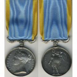 Medaglia al valore per la partecipazione nella campagna di Crimea 1856