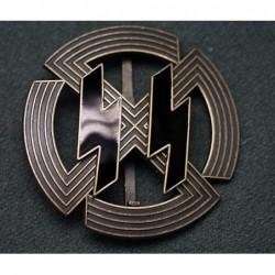 Distintivo di membro di onore delle SS. Istiuito da Himmler nel 1943.Bronzo