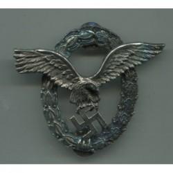 Brevetto Corona di argento per Pilota equipaggi con clips